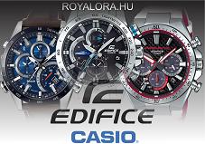 Casio Edifice karóra Royal Time óraszalon és webáruház.