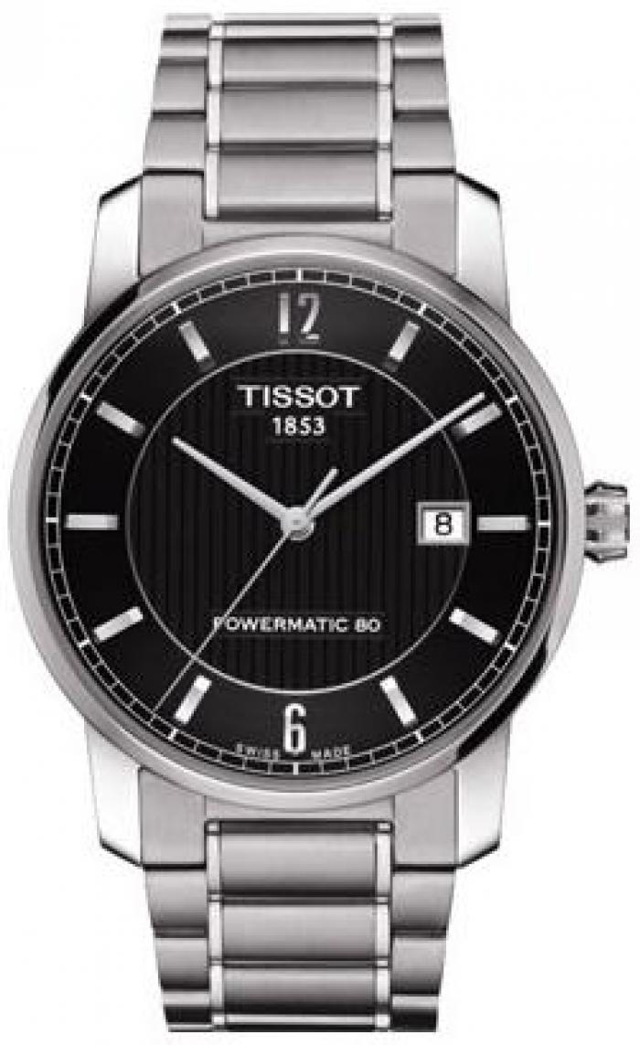 T087.407.44.057.00 Tissot Titanium Automaic karóra